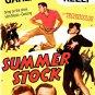 SUMMER STOCK Laser Disc (1950)...Like New! Judy Garland, Gene Kelly!  Get Happy!