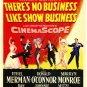 THERE'S NO BUSINESS LIKE SHOW BUSINESS Laser Disc (1954)...SEALED!  WIDESCREEN!