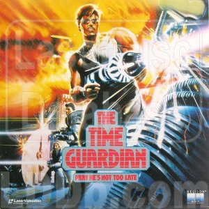 THE TIME GUARDIAN Laser Disc (1987)...Like New--Never Played!  Carrie Fisher, Tom Burlinson