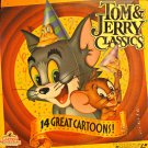 TOM & JERRY CLASSICS Laser Disc (1991)...Like New! 14 Classic Cat-and-Mouse Cartoons!