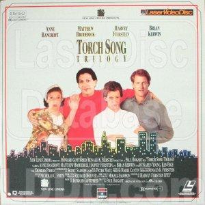 TORCH SONG TRILOGY Laser Disc (1988)...Like New! 2-Disc Set.  Anne Bancroft, Matthew Broderick