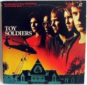 TOY SOLDIERS Laser Disc (1991)...Like New!  Sean Astin, Wil Wheaton, Louis Gossett Jr.