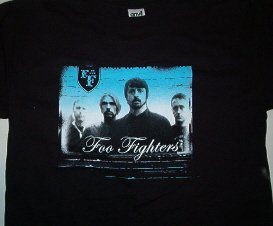 Foo Fighters Photo T-shirt Large