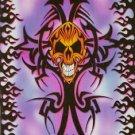 Blue Skull Cross Poster