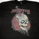 Skull Tattoo No Mercy Tee Size X-Large