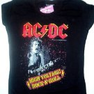 AC/DC High Voltage Girly Tee Size Large