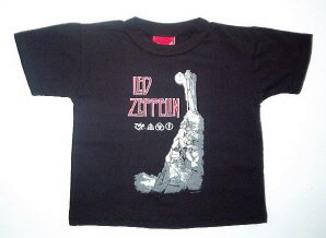 Led Zeppelin Hermit Toddler Tee Size 4T