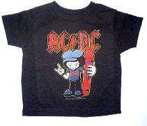 AC/DC Toddler T-shirt Size 5/6