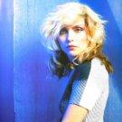 Blondie Debbie Blue Poster