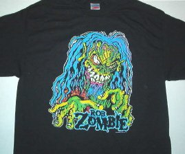 Rob Zombie Monster Tee Size X-Large