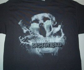 Disturbed Helping Hand Tee Size Large