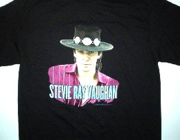 Stevie Ray Vaughan Portrait Tee Size X-Large