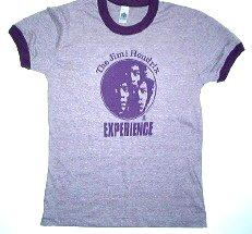Jimi Hendrix Ringer 3 Faces Girly Tee Size Medium