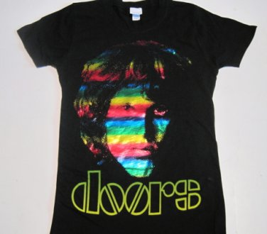 Doors Morrison Colors Ladies Tee Size Large