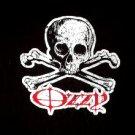 Ozzy Reflective Skull Tee Size Medium