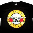 Guns & Roses Classic Logo Tee Size Large