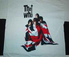 The Who Kids Are Alright White Tee Size Medium