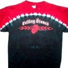 Rolling Stones Tye Dye Tribal Tongue Tee Size Medium
