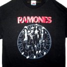 Ramones Red Logo Band Tee Size Large