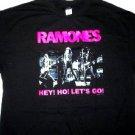 Ramones Hey Ho Lets Go Tee Size Large