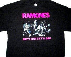 Ramones Hey Ho Lets Go Tee Size X-Large