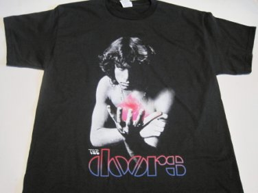 Doors Morrison Psychedelic T-shirt Size Medium