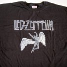 Led Zeppelin Distress Swan Song Tee Size Medium
