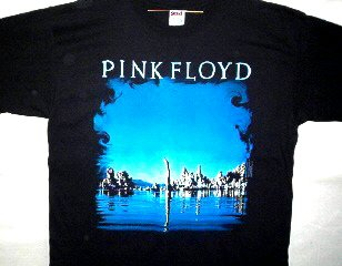 Pink Floyd Diver T-shirt Size Medium