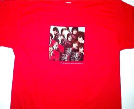 Pink Floyd Piper Red Tee Size X-Large