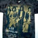 Led Zeppelin King's Road Band Tye Dye Tee Size Large