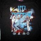 Led Zeppelin Stellar Montage Vintage Tee Size X-Large