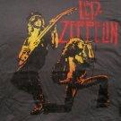 Zep Page Plant Duo Gunmetal T-shirt Size Large