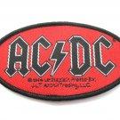 AC/DC Oval Patch