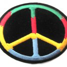 Peace Sign Colorful Patch