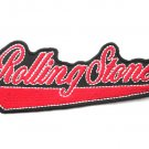 Rolling Stones Logo Pennant Patch