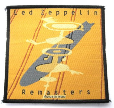 Led Zeppelin Remasters Crop Circles Patch