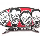 Metallica Metal Heads Patch
