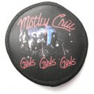 Motley Crue Girls Girls Girls Patch