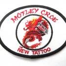 Motley Crue New Tattoo Dragon Patch