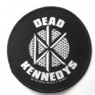 Dead Kennedys Round Woven Patch