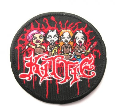 Kittie Band Patch