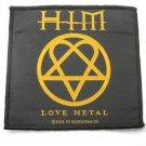 HIM Love Metal Patch