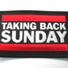 Taking Back Sunday Patch