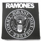 Ramones Seal Canvas Patch