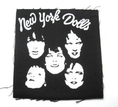 New York dolls Canvas Patch