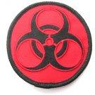 Biohazard Symbol Round Patch