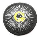 Freemason Round Patch