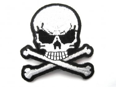 Skull Crossbones Patch