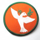 Peace Dove Round Patch