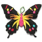 Black Butterfly Patch